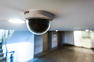 camera for security of building