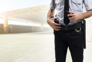 Armed security officers can be used to deter crime