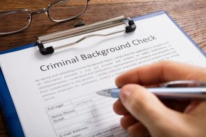 armed security officer background check