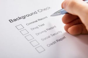 different types of background checks