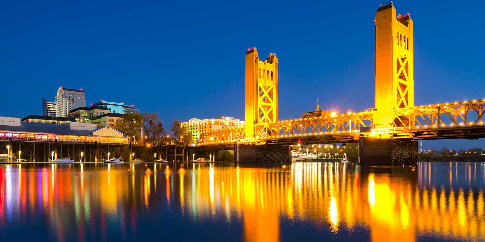 Sacramento CA skyline