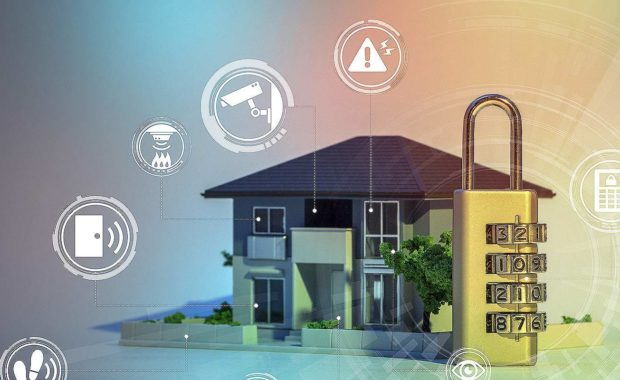 An illustration of home security systems and the benefits