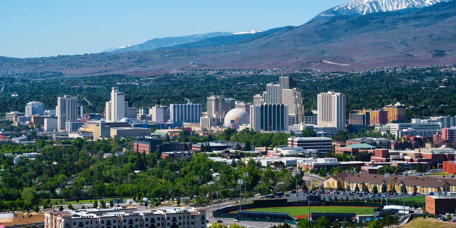 Skyline of Reno, NV
