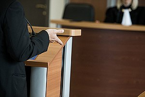 Witness testify in court. A professional private investigator will serve as a reliable source of information