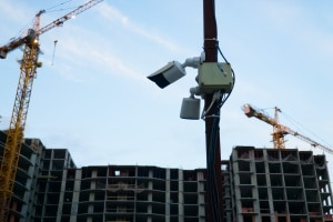 Construction Site Security Cameras  being used to catch thieves