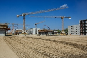 open site that needs a Construction Site Security Plan