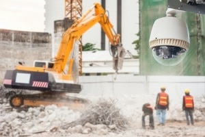 camera use as Construction Site Security