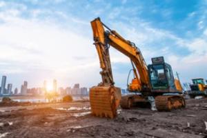 JCB on a Construction Site