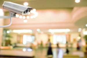 Security Camera in Hotel
