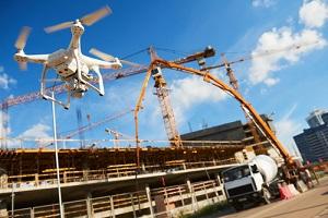 Construction Site Drone Surveillance