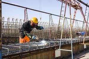 Engineer Welding in Construction Site