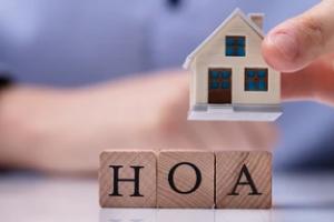 hoa written on wooden blocks