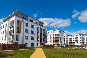 apartments that are being maintained by residential property management services