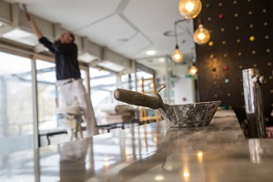 renovation of a small business restaurant