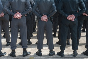training of mall security company officers